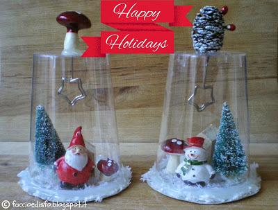 Babbo Natale Fatto Con I Bicchieri Di Plastica.Lavoretti Di Natale Con I Bicchieri Di Plastica Myselfie
