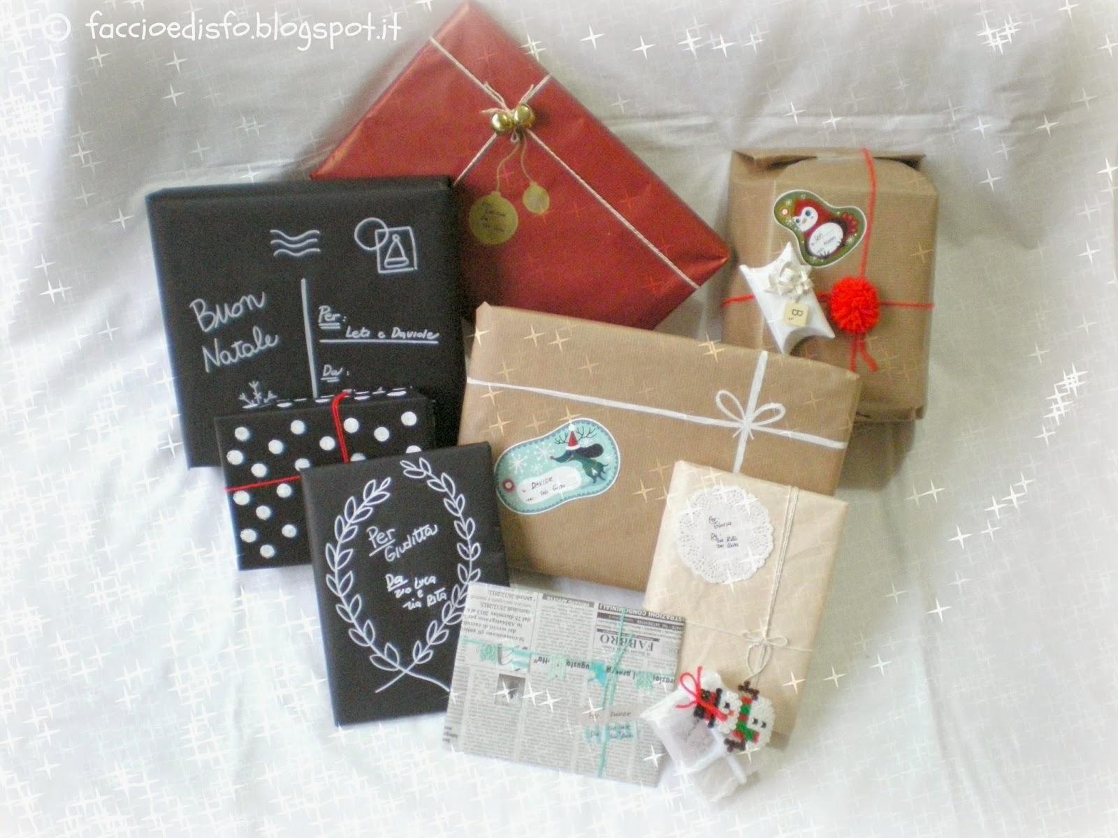 Idee per impacchettare i regali di natale myselfie cottage for Idee di aggiunta cottage