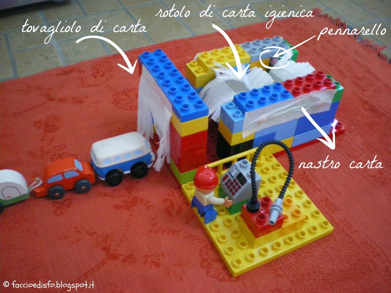 Autolavaggio fai da te elogio al padre crafter myselfie cottage - Tovaglioli di carta decorati ...