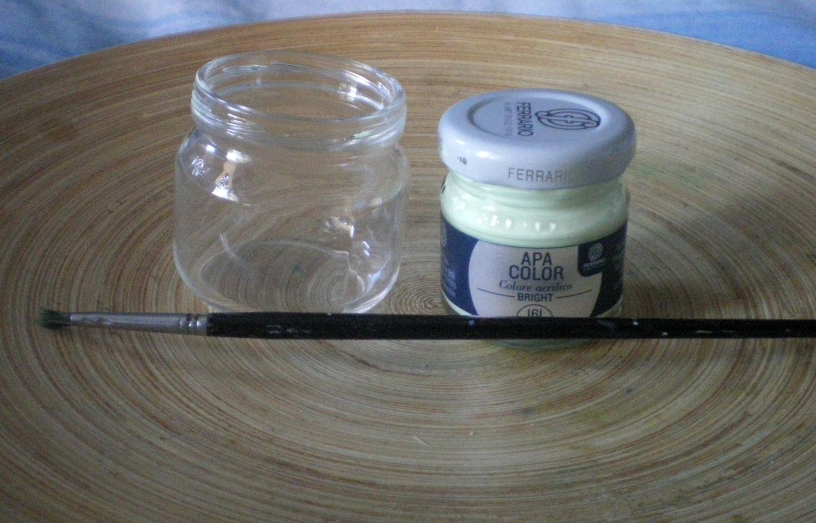 Lampada Con Barattolo Di Vetro : Riciclare i vasetti di vetro con la polvere di stella cometa