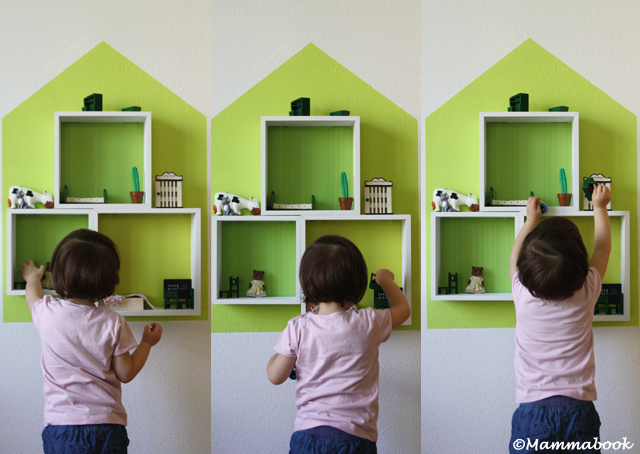 Casetta per le bambole di design fai da te myselfie - Casette di cartone da costruire ...